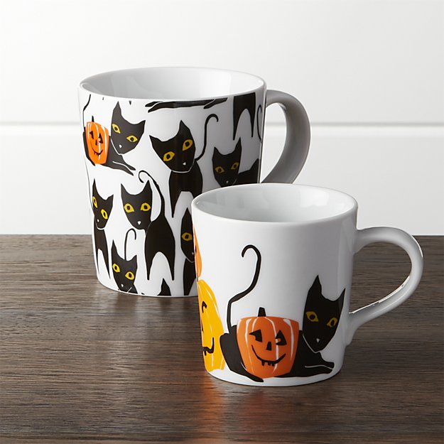 halloween-cat-and-pumpkin-mugs