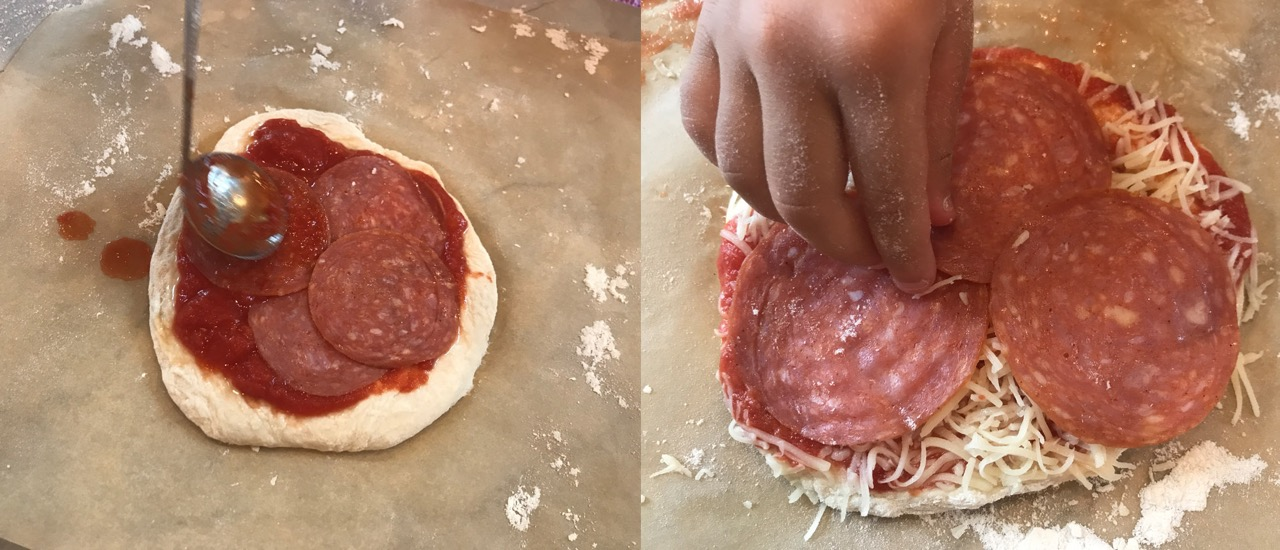 Homemade Pizza Party